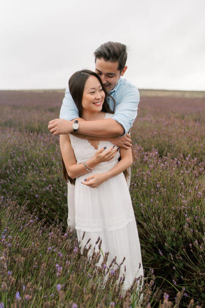 lavender-field-engagement